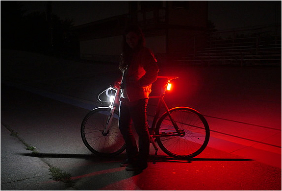 Orfos Flare Bike Lights | Image