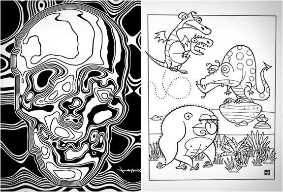 outside the lines 5jpg image - Outside The Lines Coloring Book