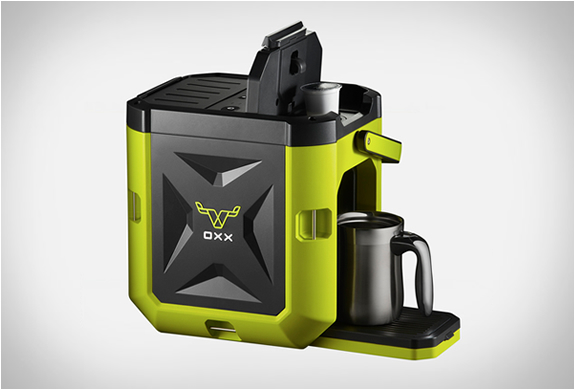 OXX COFFEEBOXX Single Cup K-Cup Rugged Jobsite Green Coffee Maker Brewing System eBay