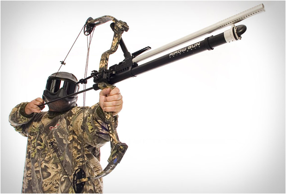 Bow-mount Paintball Airow Gun | Image