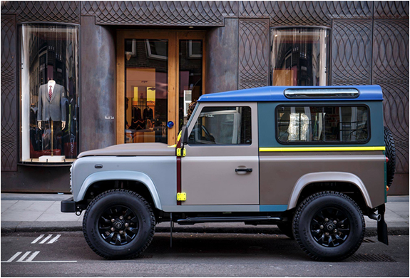 Paul Smith X Land Rover Defender | Image