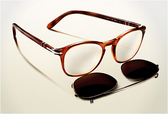 PERSOL CLIP-ON SHADES COLLECTION | Image