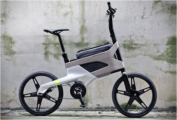 PEUGEOT DL122 BIKE | WITH LAPTOP COMPARTMENT | Image