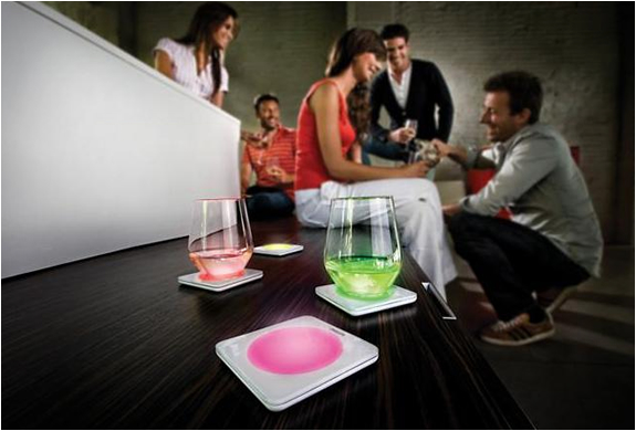 Color Changing Coasters | By Philips | Image