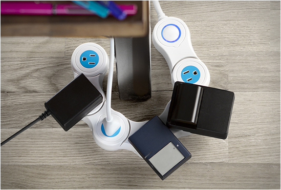 PIVOT POWER | FLEXIBLE POWER STRIP | Image
