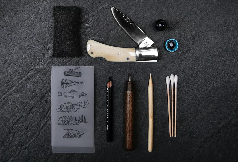 Scrimshaw Knife DIY Kit | Image
