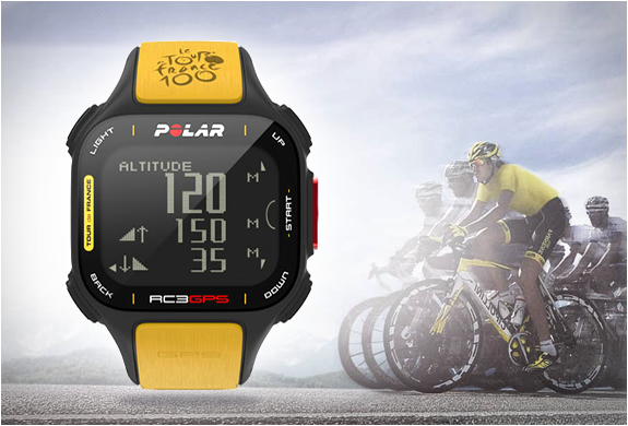 POLAR RC3 GPS TOUR DE FRANCE | Image