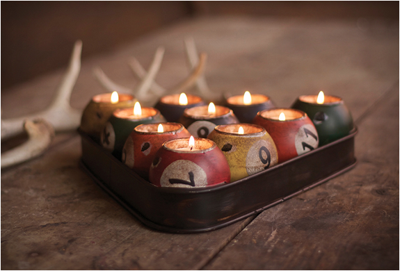 Pool Ball Candle Holder | Image