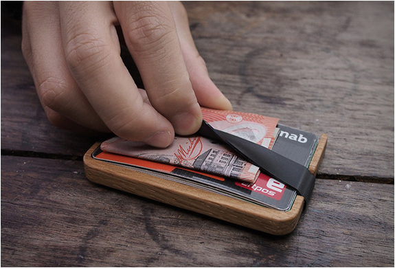 Poquito Wood Wallet | Image