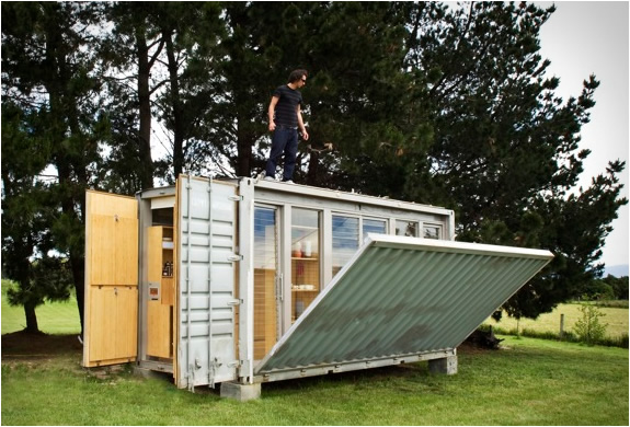 Portable container holiday home for Transportables haus