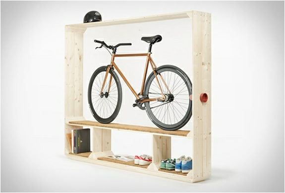 postfossil-shoes-books-bike-shelf-4.jpg | Image