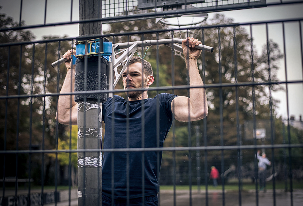 PORTABLE PULLUP & DIP BAR | Image