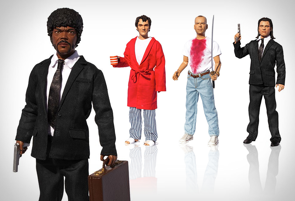 PULP FICTION EXPLICIT TALKING FIGURES | Image