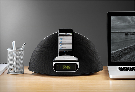 CONTOUR 100I SPEAKER DOCK | BY PURE | Image