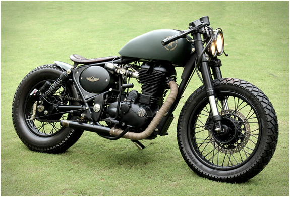 ROYAL ENFIELD 500CC | BY RAJPUTANA CUSTOMS | Image
