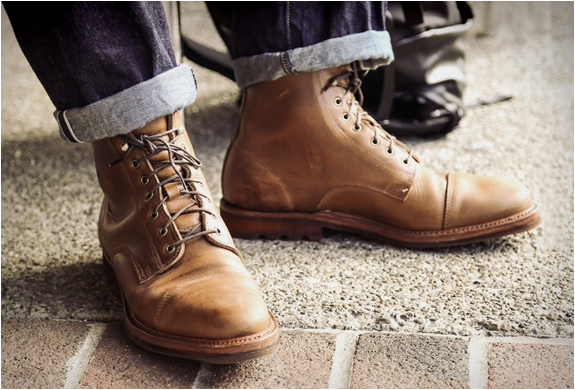 Rancourt X Huckberry Knox Boot | Image