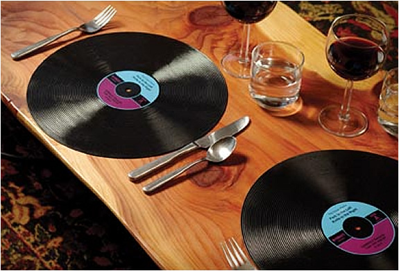 Record Placemats | Image