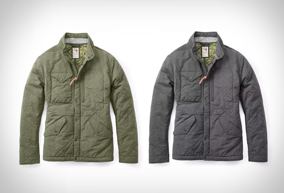 RELWEN QUILTED PATROL JACKET | Image