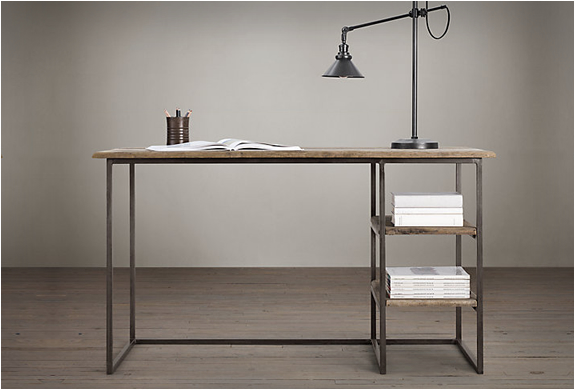 FULTON DESK | BY RESTORATION HARDWARE | Image
