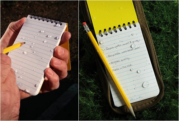 ALL-WEATHER WRITING NOTEBOOKS | Image