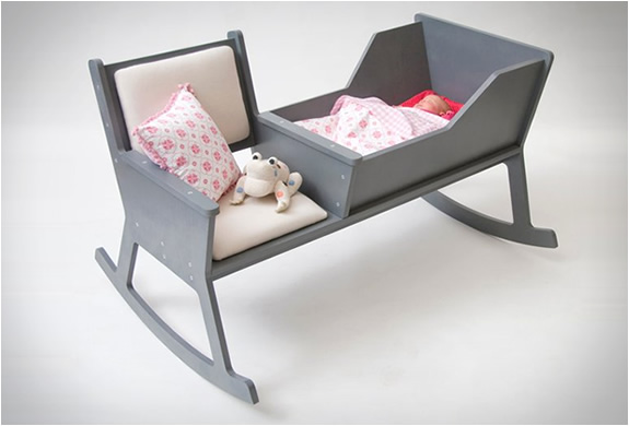 ROCKID | ROCKING CHAIR AND CRADLE IN ONE | Image