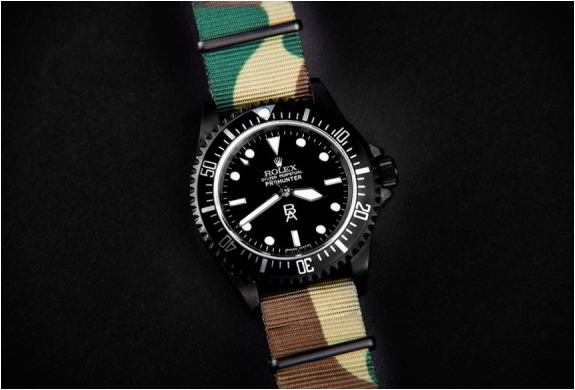 Blender Agency X Prohunter Rolex Submariner | Image
