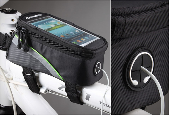 BIKE FRAME BAG | BY ROSWHEEL | Image