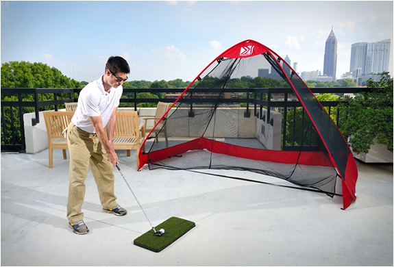Rukk Net | Pop-up Golf Practice Net | Image