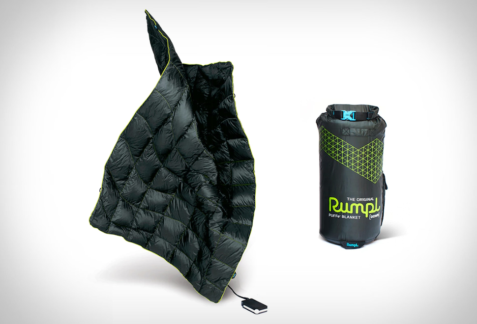 RUMPL PUFFE HEATED BLANKET | Image