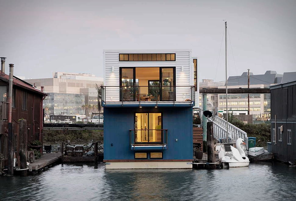 SAN FRANCISCO HOUSEBOAT | Image