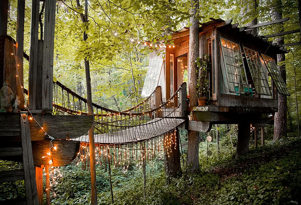Secluded Intown Treehouse | Image