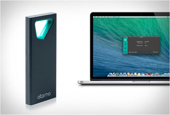 Sesame | Wireless Proximity Mac Lock | Image