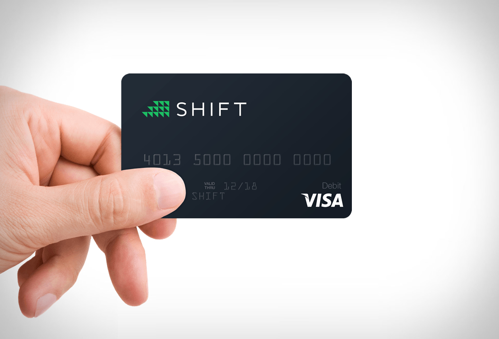 SHIFT BITCOIN DEBIT CARD | Image