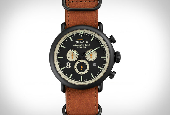 THE RUNWELL CONTRAST CHRONO | BY SHINOLA | Image