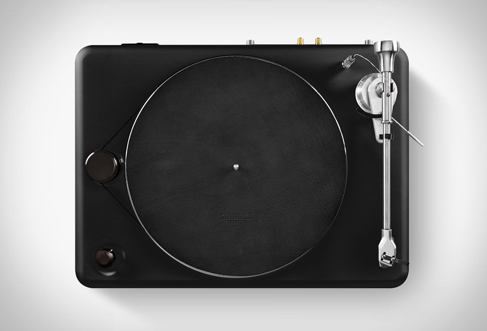 SHINOLA RUNWELL TURNTABLE | Image