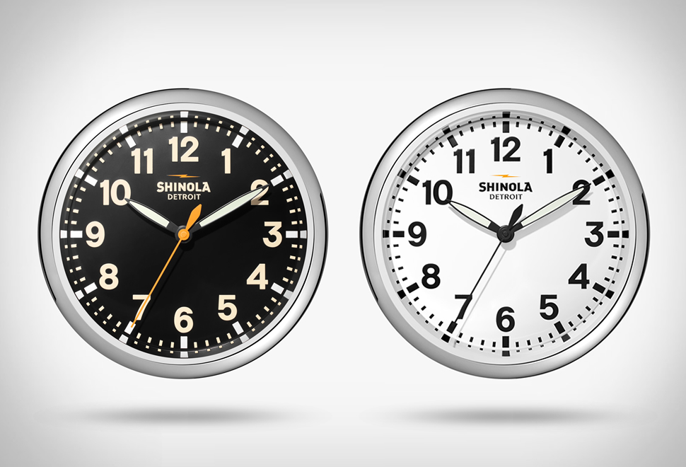 Shinola Wall Clock | Image