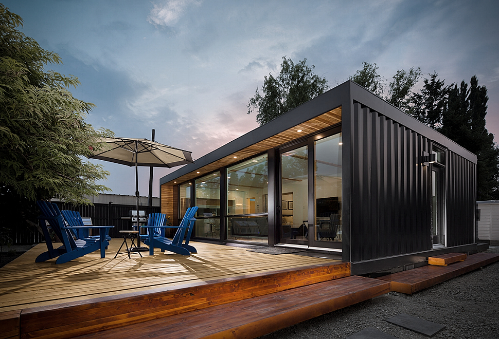 Contianer Homes Entrancing Shipping Container Homes Decorating Design