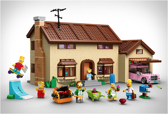 SIMPSONS LEGO SET | Image
