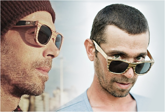 SK8 SHADES | MADE FROM RECYCLED SKATEBOARDS | Image