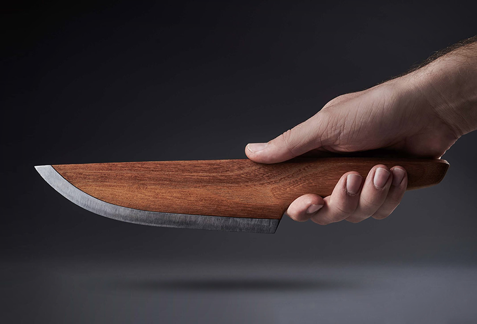SKID Wooden Chef Knife | Image