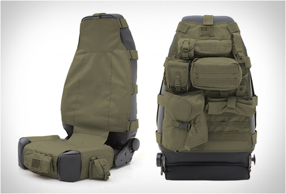 Tactical Seat Covers | By Smittybilt | Image