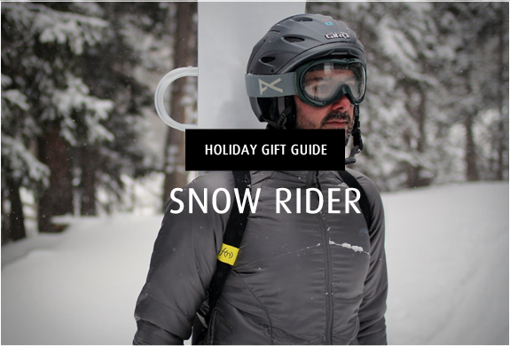Holiday Gift Guide | Snow Rider | Image