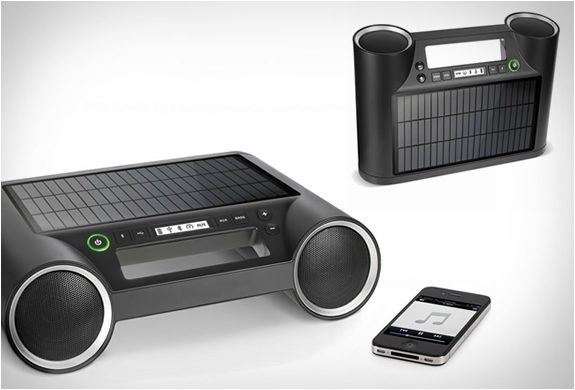 Solar Powered Wireless Speaker | Image