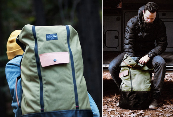Land And Sea Duffle Pack By Sons Of Trade