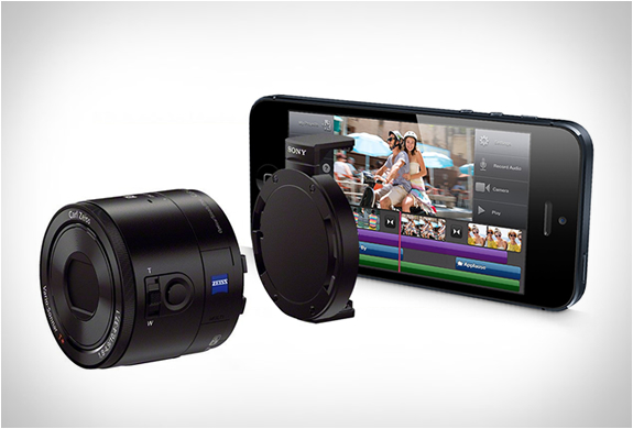 SONY SMARTPHONE ATTACHABLE LENS-STYLE CAMERA | Image