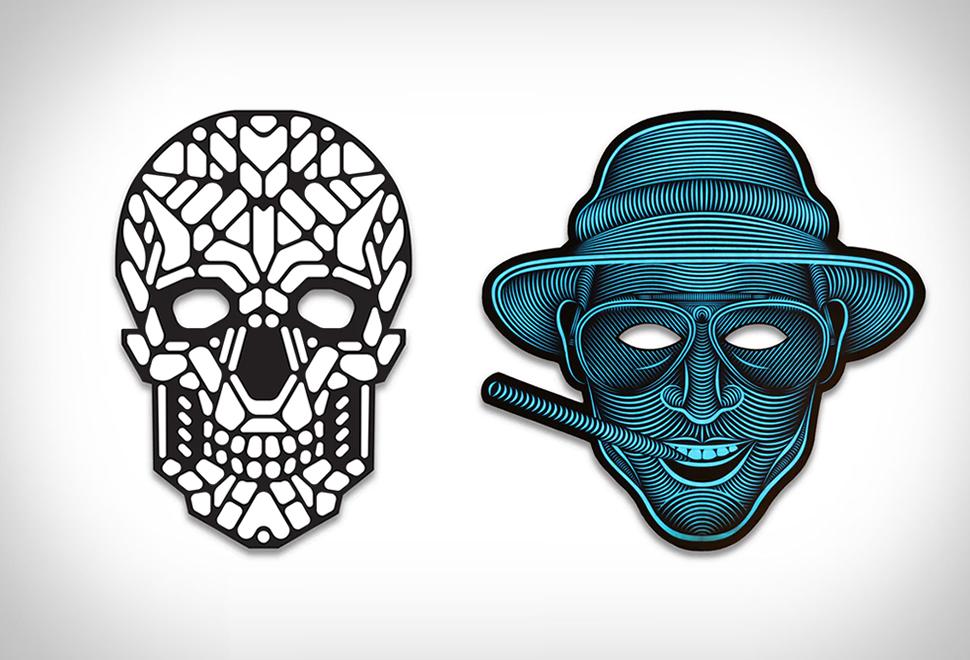 Sound Reactive LED Mask | Image