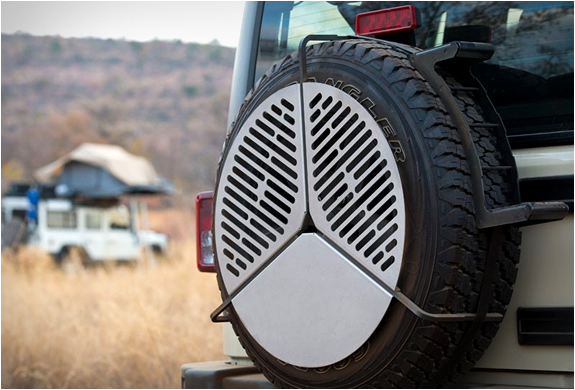 SPARE TIRE BBQ GRATE | Image