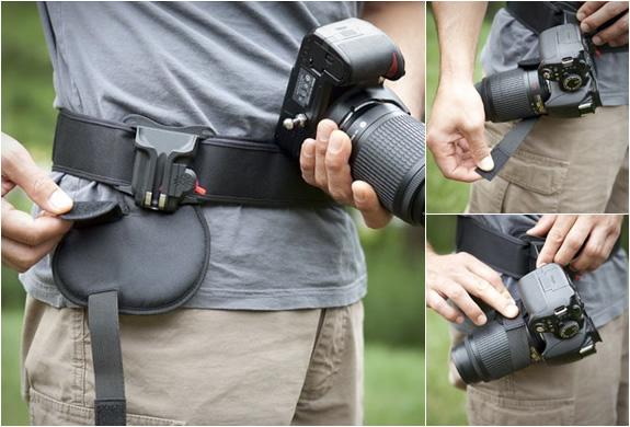 CAMERA HOLSTER KIT | BY SPIDER | Image