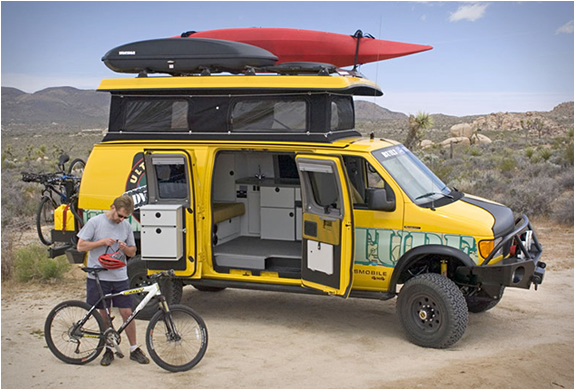 SPORTSMOBILE ULTIMATE ADVENTURE VEHICLE | Image