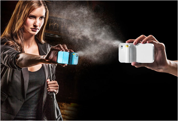 SPRAYTECT | PEPPER SPRAY IPHONE CASE | Image